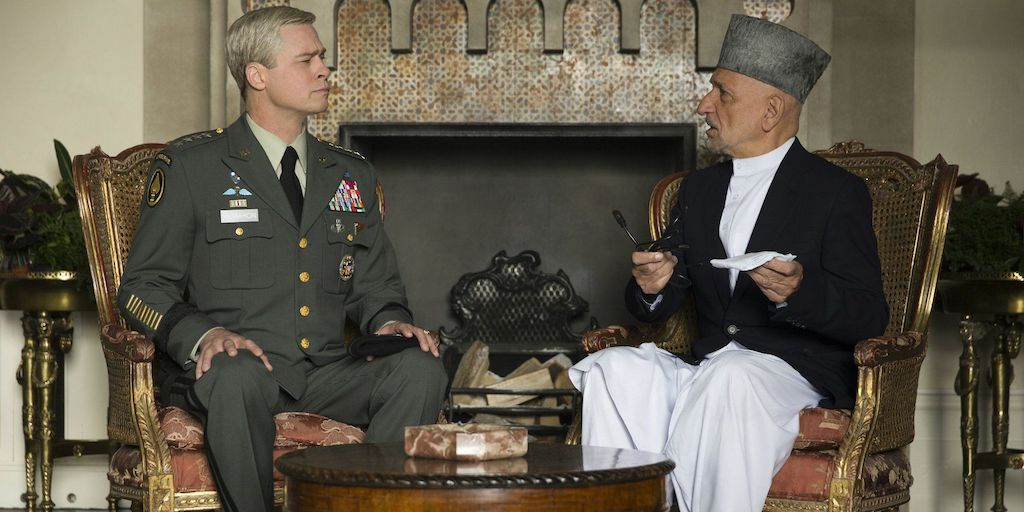 In 2012, Hamid Karzai said he would be 'honored' to have Ben Kingsley play him in a film