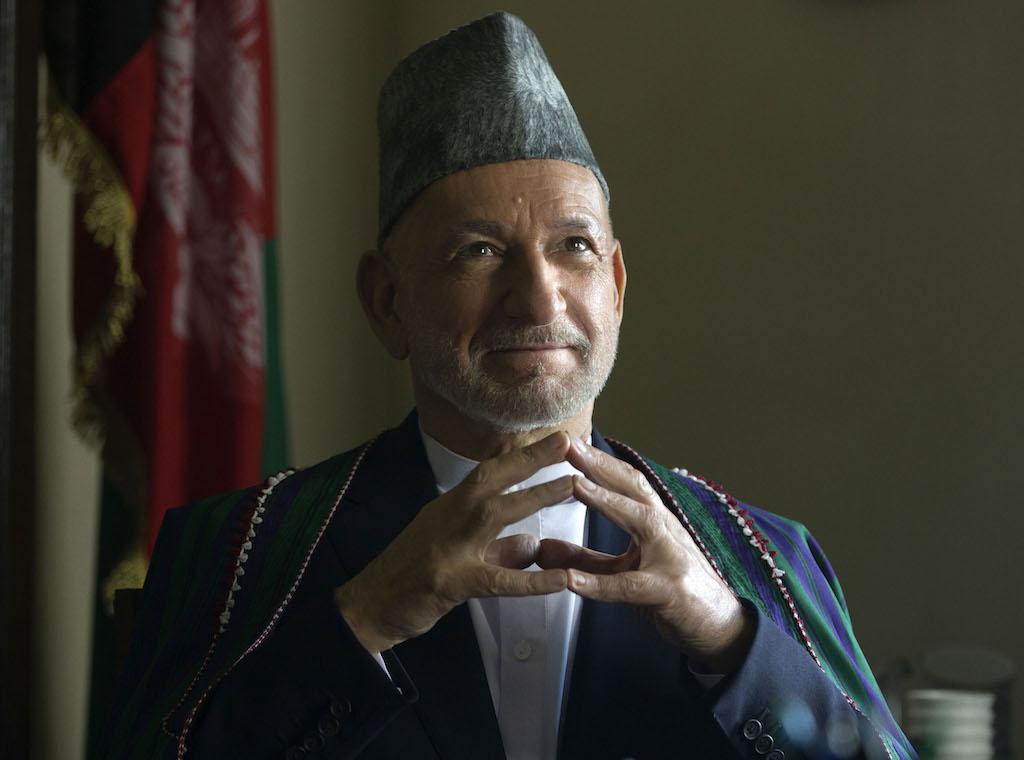 Ben Kingsley as Hamid Karzai in War Machine
